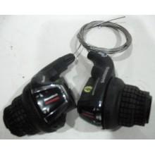 Переключатель скоростей SHIMANO левый/правый, модель SL-RS45, 6R/3L ,(6-ик)