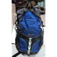 Pюкзак с ортопедической спинкой. Цвет синий