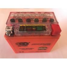Аккумулятор  5A/12V  гель с индикатором ,  низкий, OUTDO , год выпуска 04.03.2019