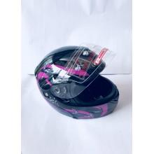 """Шлем """"трансформер"""" ,без очков ,размер L(57,58) ,с бабочками"""