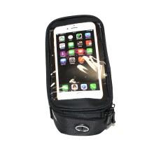 """Сумка на раму для инструмента и смартфона 5.5""""  (GA-43) , ROSWHEEL , черный"""