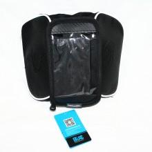 """Сумка на раму для инструмента и смартфона 4.8"""" (GA-46-2) , водонепроницаемый материал , ROSWHEEL , черный"""
