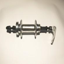 Втулка задняя , под дисковая , модель 210 , 36H , серебро , SHUNFENG