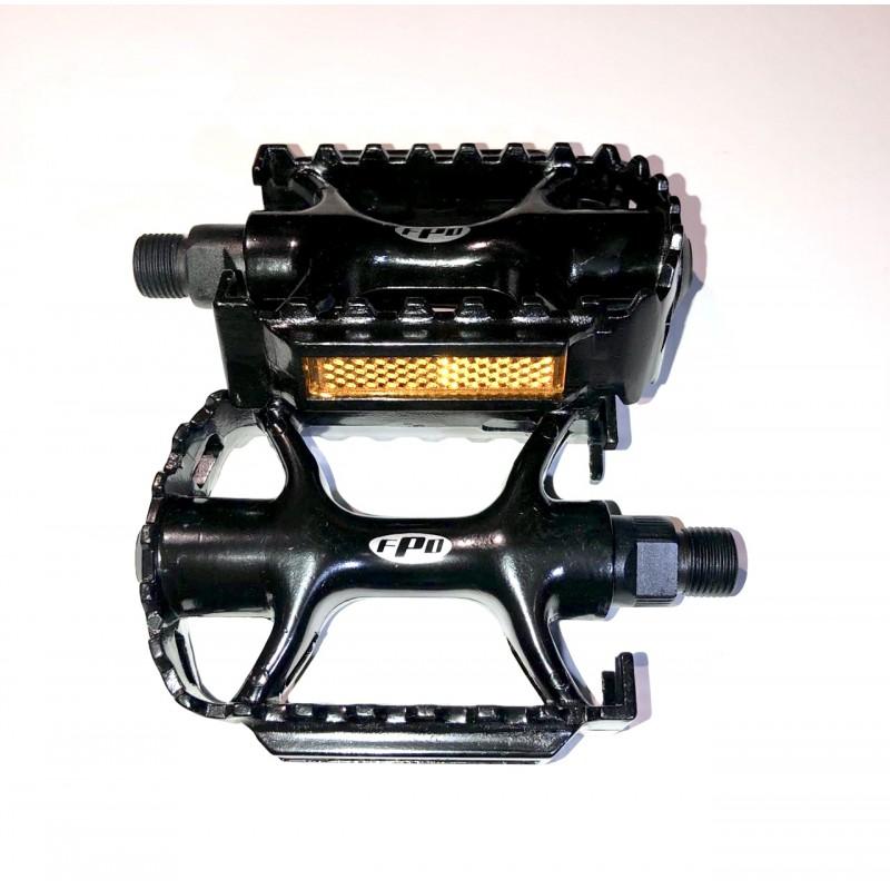 Педаль алюминиевая, модель 979 , чёрный, FPD, размер 9/16 ,Тайвань