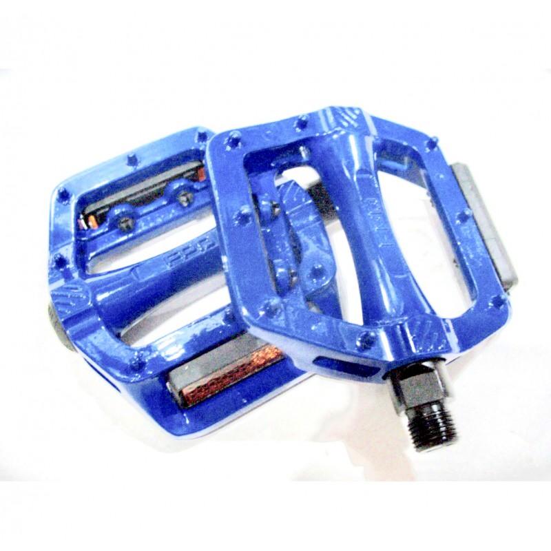 Педаль алюминиевая, модель 305, FPД ,размер 9/16,синий ,Тайвань