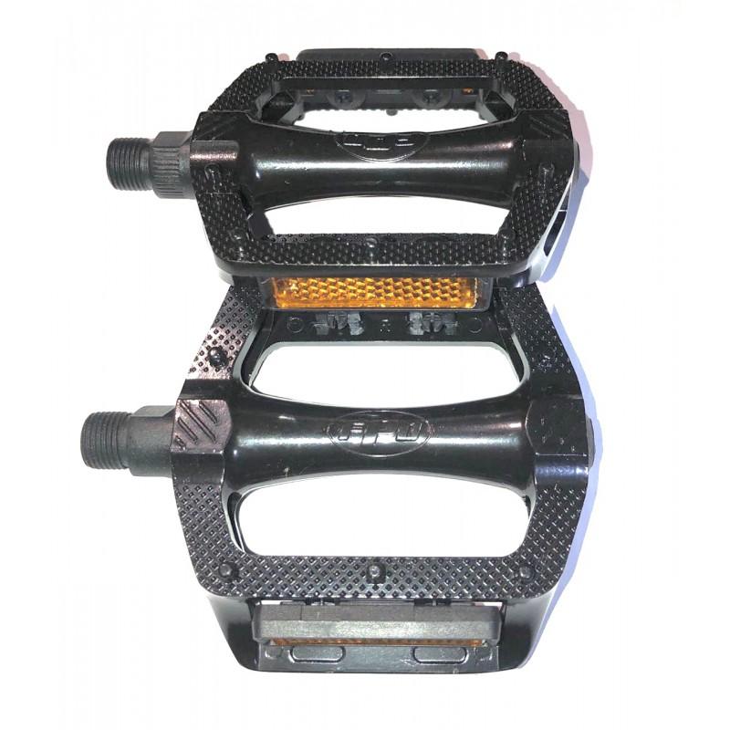 Педаль алюминиевая,FPD, модель 305  , размер 9/16, черный ,Тайвань