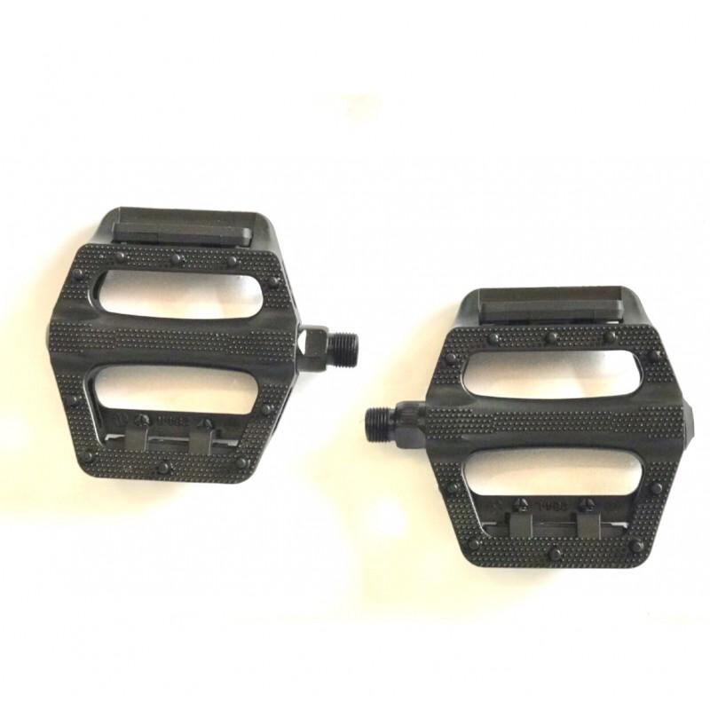 Педаль пластиковая ,FPD ,модель 284 ,размер 9/16 ,черная ,Тайвань