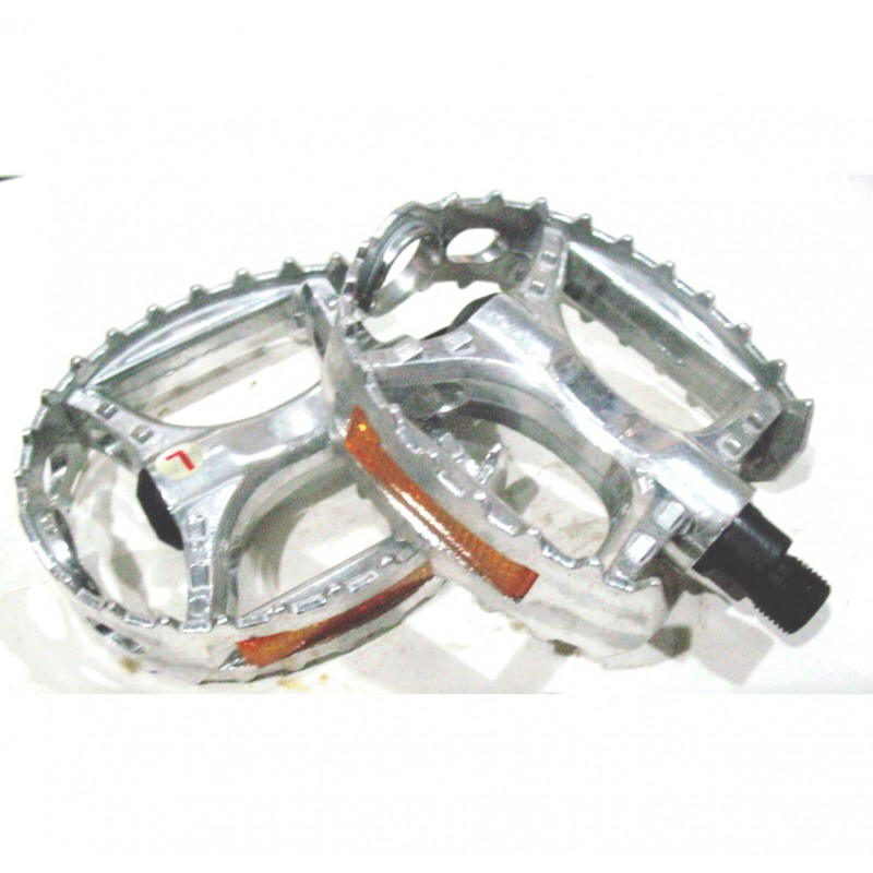 Педаль алюминиевая, модель 894, FPД  9/16 ,серебро