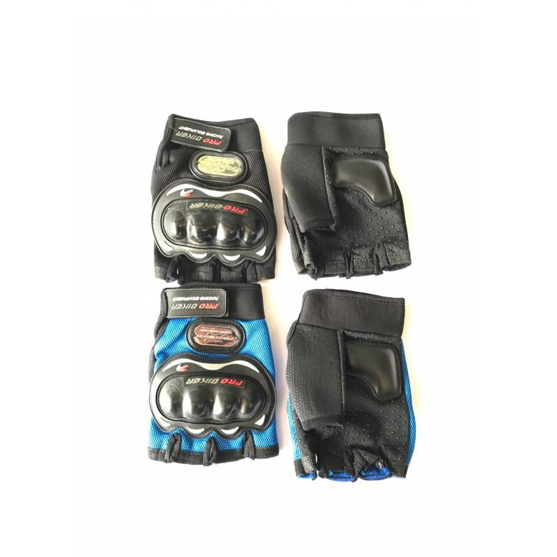 Перчатки PRO-BIKER , без пальцев ,с защитой ,размер L, XL