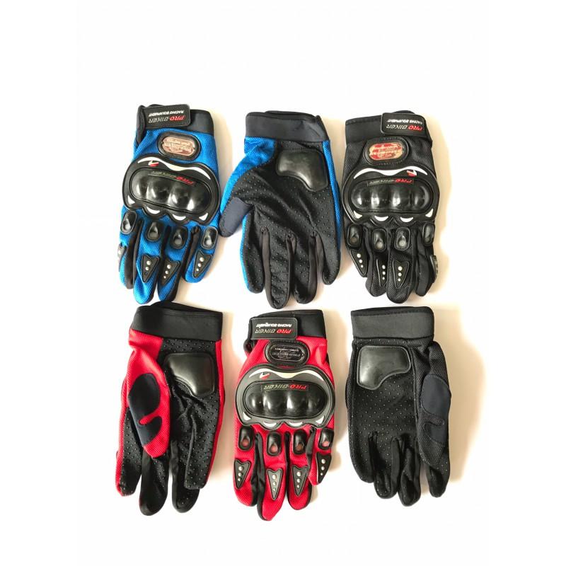 Перчатки PRO-BIKER,с пальцами, с защитой