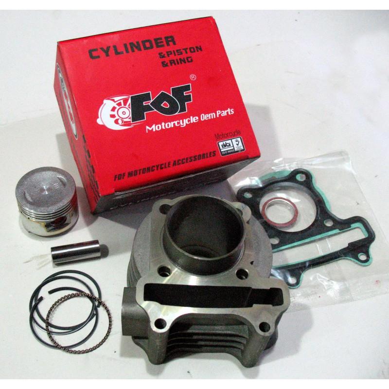 Поршневая группа  GY6-60 куб   для  скутера , комплект  , ф 44мм , FDF