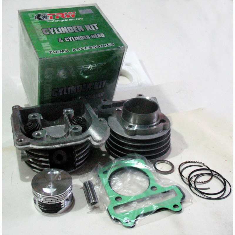 Цилиндр и  головка  GY6-100 куб с пальцем  10мм ф 50мм