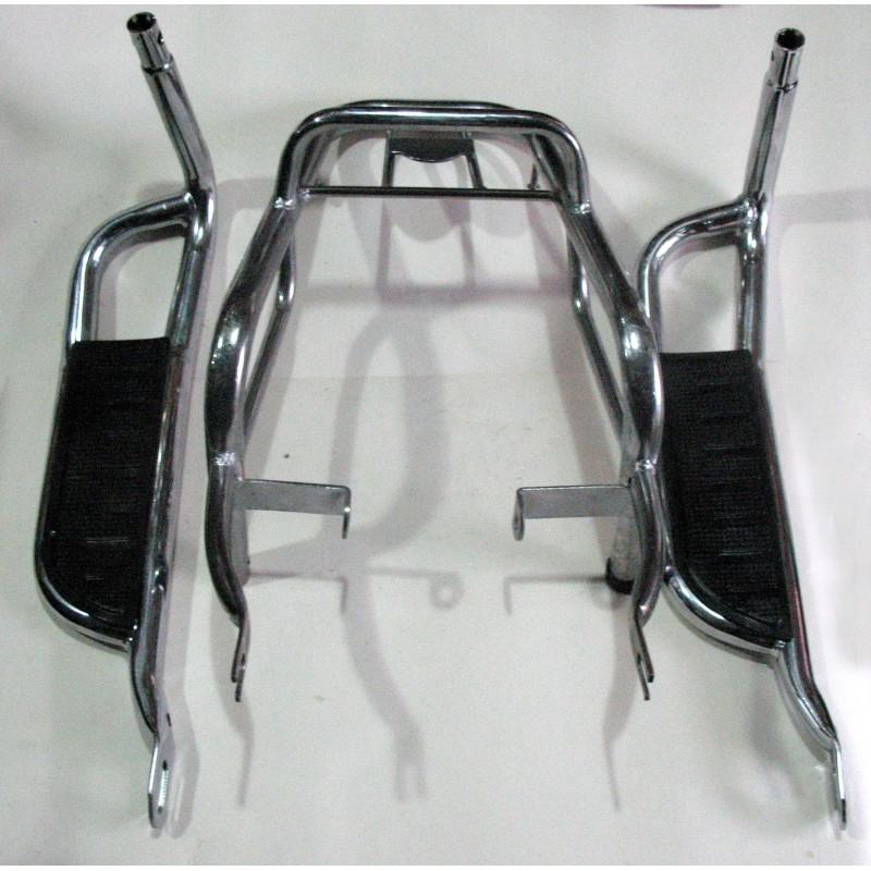 Багажник  ACTIV  110 куб ,комплект , хром