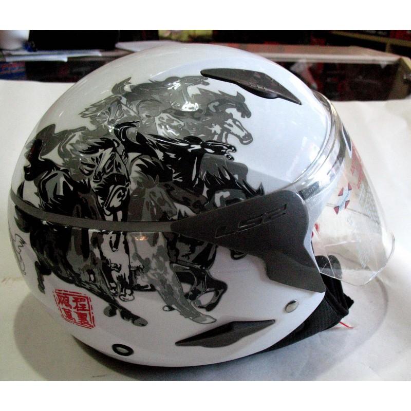 Шлем открытый ,LSS ,размер L(57,58) ,XL (59,60) ,белый
