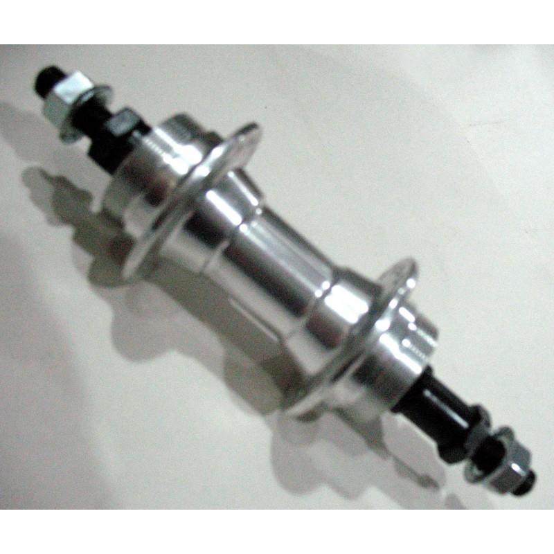 Втулка задняя, алюминиевая, под дисковая, модель 219 , 36H , серебро  , SHUNFENG