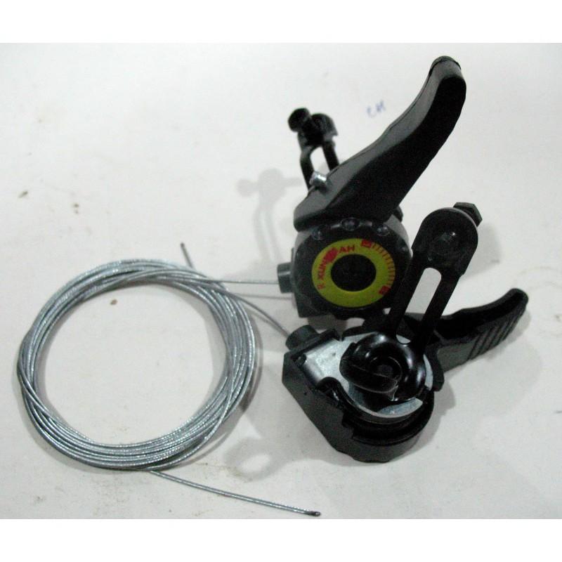 Переключатель скоростей  (манетка)  левый/правый, пластик, модель 05