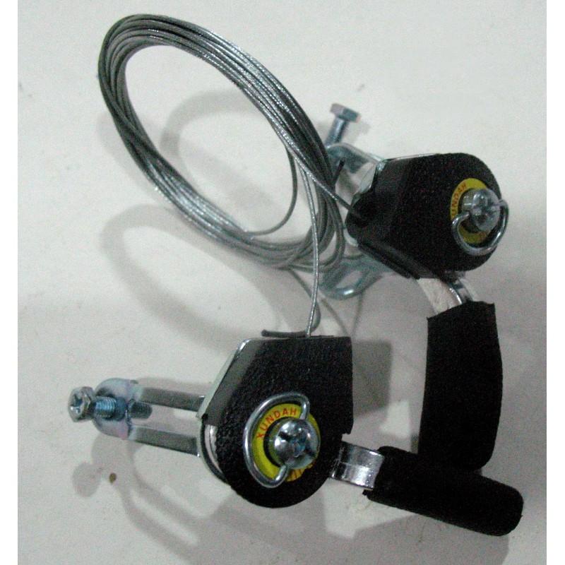 Переключатель скоростей  ( манетка)  левый/правый, алюминиевый, модель 02