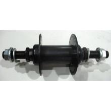Втулка передняя ВМХ М10 , 48 отверстий, черная ,металлическая