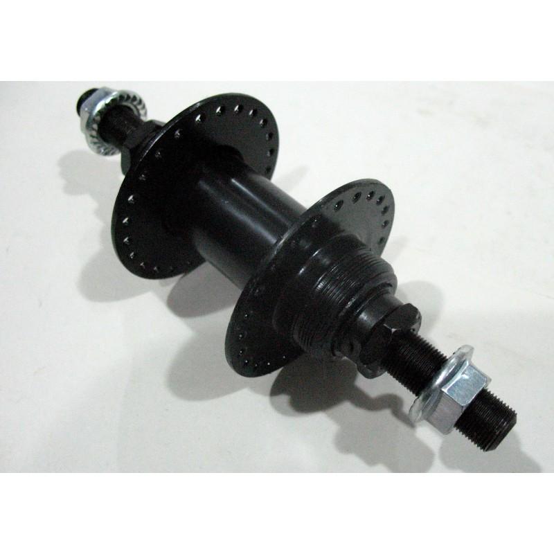 Втулка задняя , ВМХ , М10 , 48 отверстий ,металлическая , черная