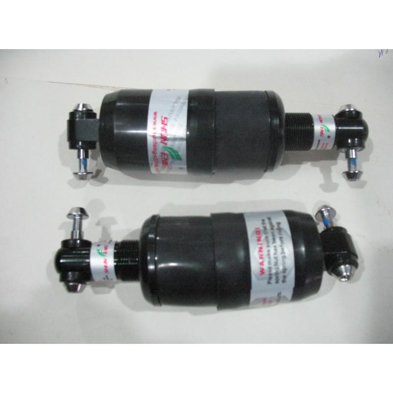 Амортизатор на раму, длина 170 мм ,закрытый ,черный