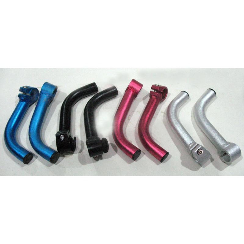 Рога паяные, алюминиевая , красный ,синий , черный ,серебро ,пара
