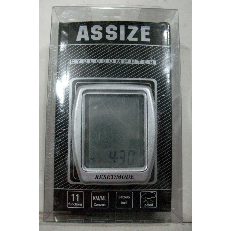 Велоспидометр ASSIZE AS411 , 11 функций ,Тайвань