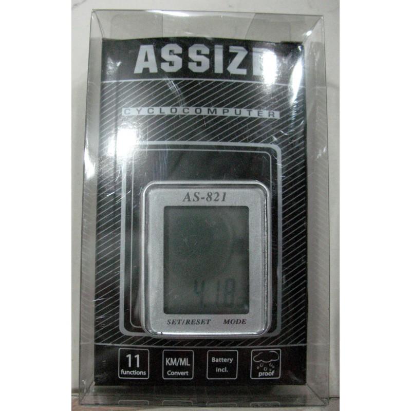 Велоспидометр ASSIZE AS821 ,11 функций ,Тайвань