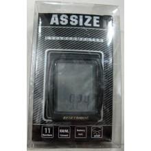 Велоспидометр ASSIZE AS401 , 11 функций ,Тайвань