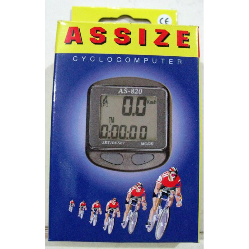 Велоспидометр ASSIZE AS820 ,11 функций , Тайвань