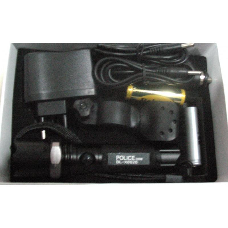 Фара с зарядным устройством 8626 500W