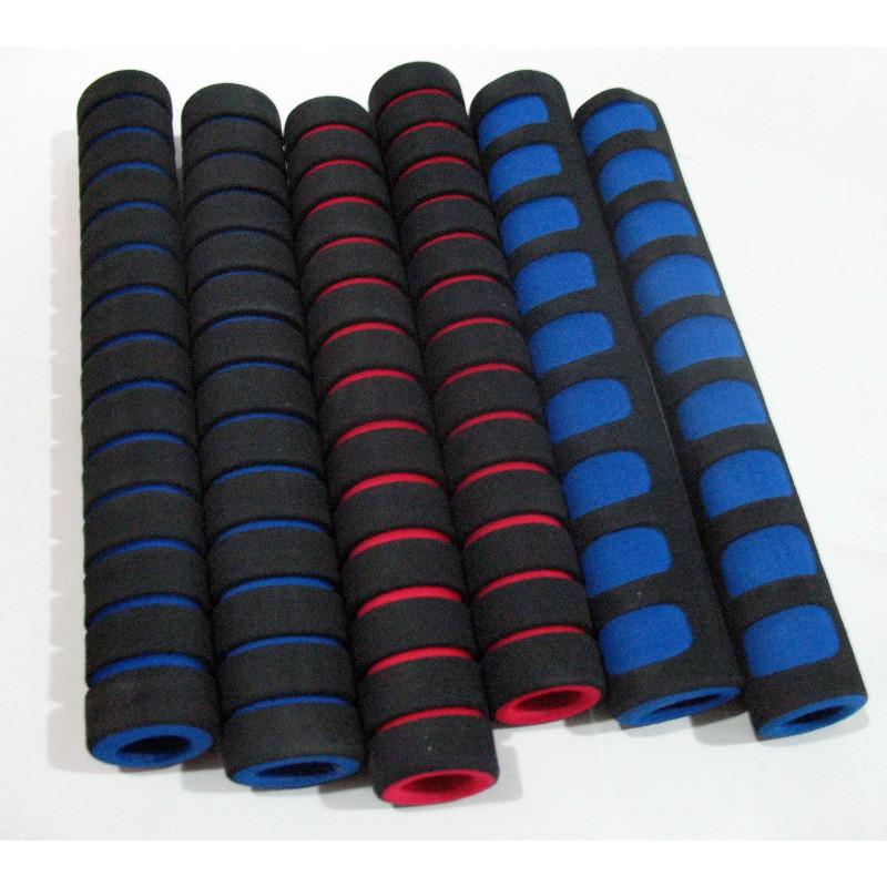 Ручки поролоновая, 4 штуки в комплекте ,  синие,красные,зеленые,черные