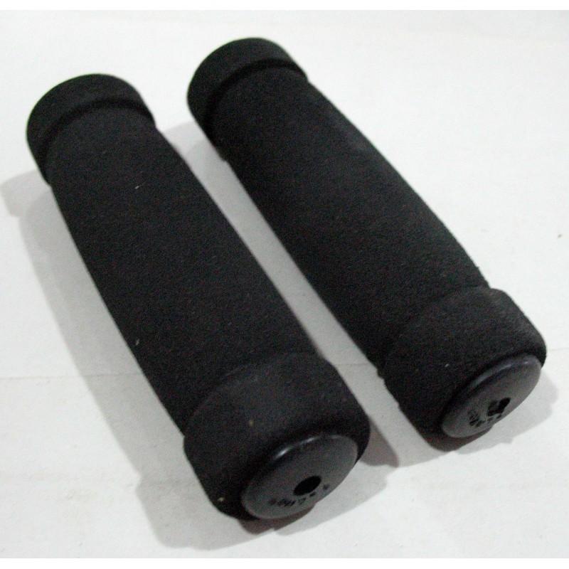 Ручки поролоновая  125 мм , цвет черный,  пара