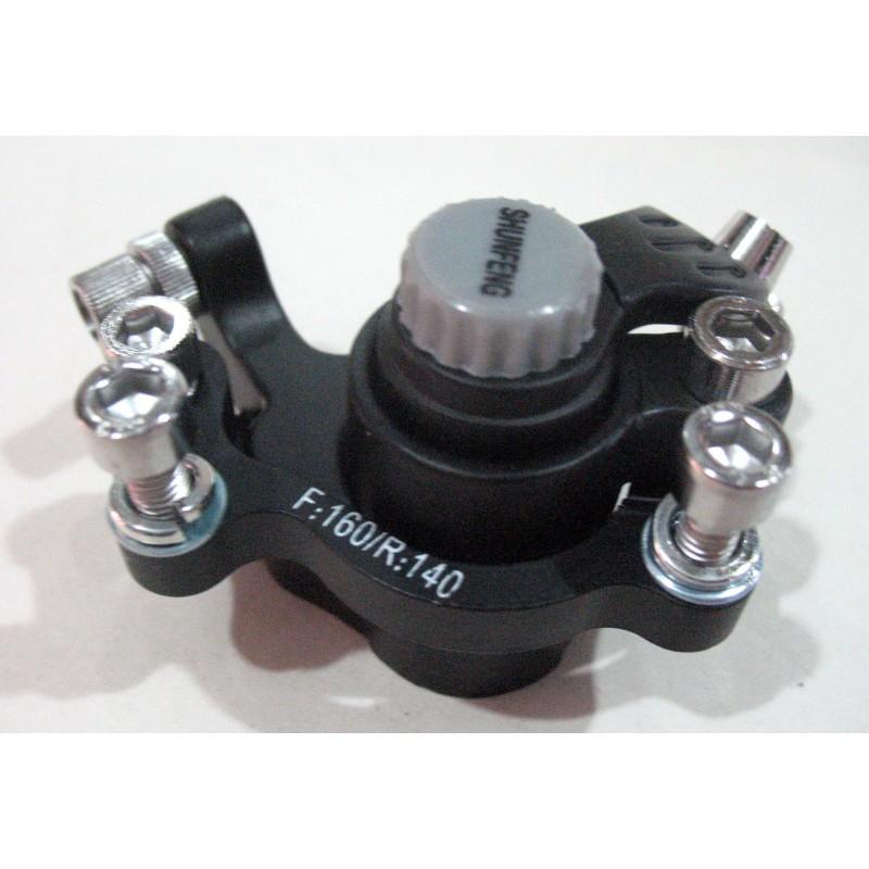 Отдельный механизм для дисковых тормозов 140/160 , SHUNFENG