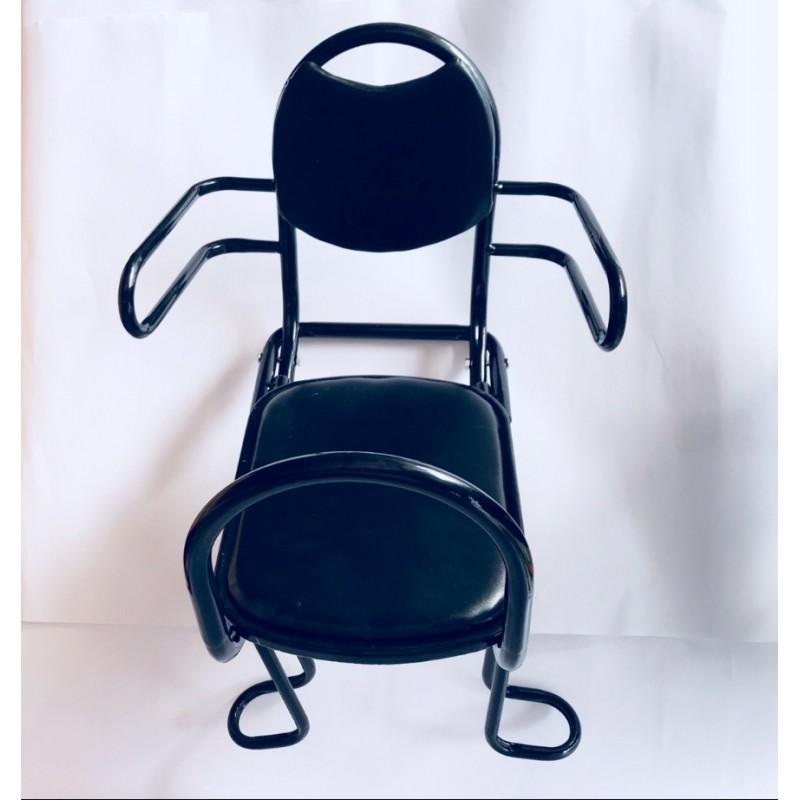Кресло для детей на багажник, трубчатое ,откидное