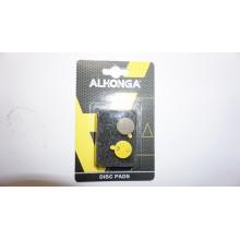 колодка под дисковые тормоза ,модель 23 ,ALHONGA ,состав органик