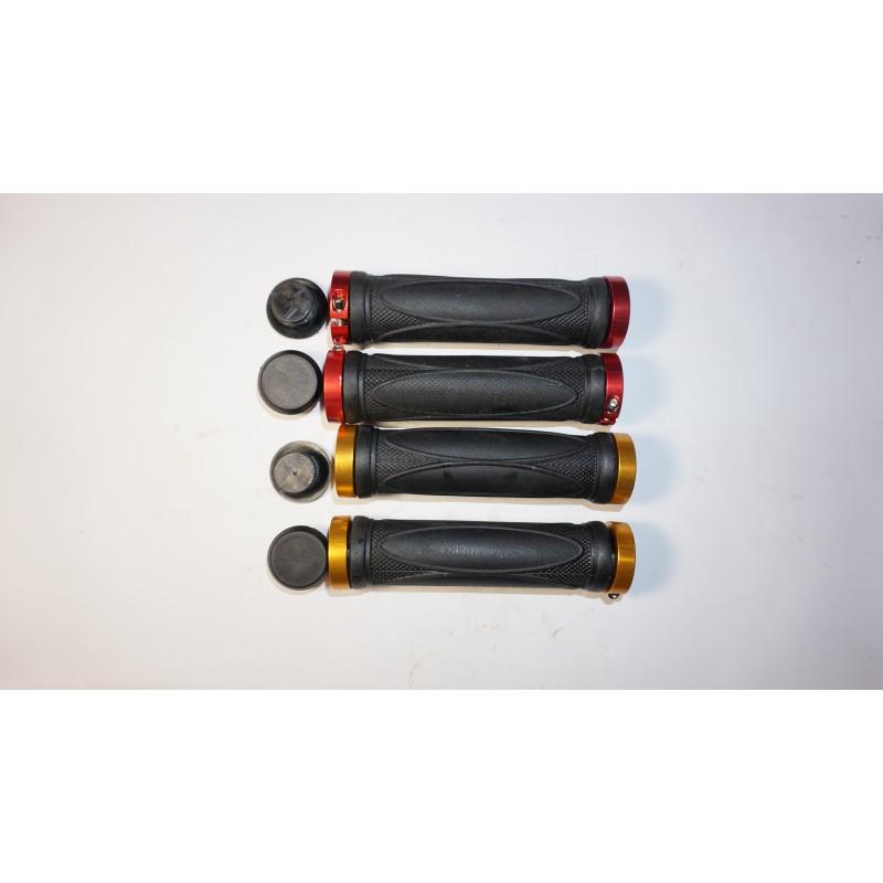 Ручки резиновые 130мм алюминий ,золотой ,красный ,с замком
