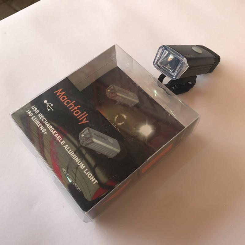 Фара с зарядкой под USB ,модель MC-QD001 (SA-6) , черный