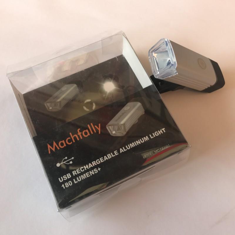 Фара с зарядкой под USB ,модель MC-QD001 (GA-19) , серебреный