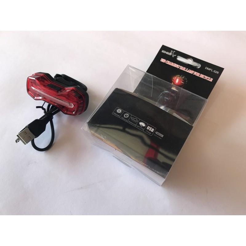 Мигалка задняя с зарядкой под USB ,модель 526(G41)