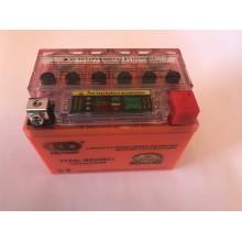 Аккумулятор  4A/12V  гель с индикатором ,OUTDO , год выпуска 04.03.2019