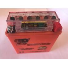 Аккумулятор  5A/12V  гель с индикатором ,высокий ,OUTDO , год выпуска 04.03.2019