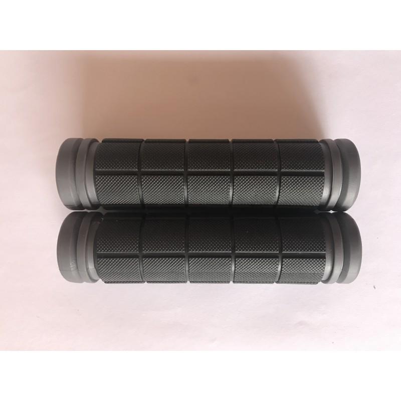 Ручки резиновые ,черно-серые , Тайвань
