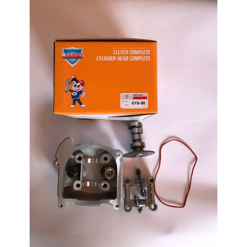 Головка цилиндра комплект ,без крышки ,GY6-80 куб , JWBP , Тайвань