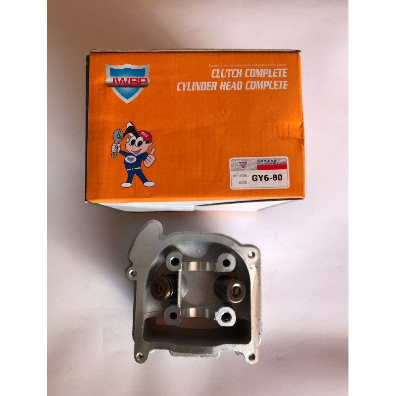 Головка цилиндра с клапаном ,голая ,GY6-80 куб , JWBP , Тайвань