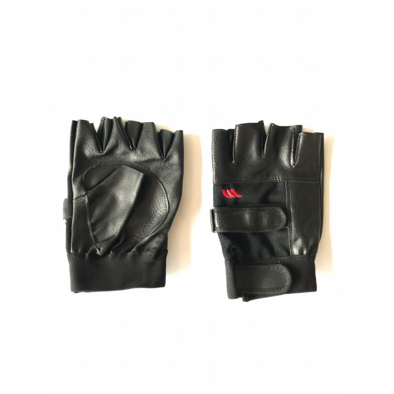 Перчатки без пальцев ,под кожа ,размер М, L, XL,черные