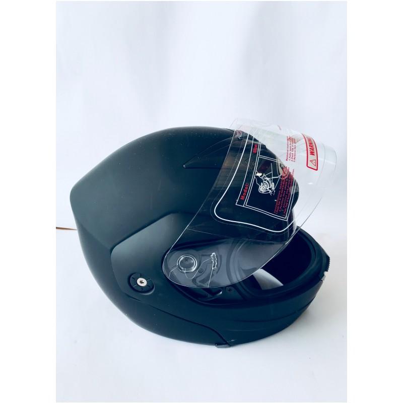 """Шлем """"трансформер"""" ,с очками ,FGN ,размер L(57,58), черный матовый"""