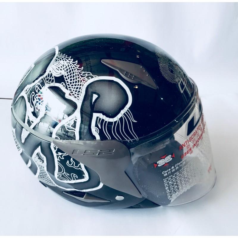 Шлем открытый ,LSS ,размер L(57,58), черный