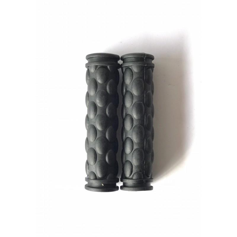 """Ручки резиновые размер 125 мм ,""""с пупырышками"""" ,черные"""