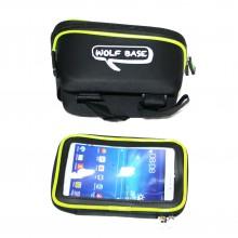 """Сумка на раму для инструмента и смартфона 5.5"""" (GA-44) , WOLF BFSE , черный"""