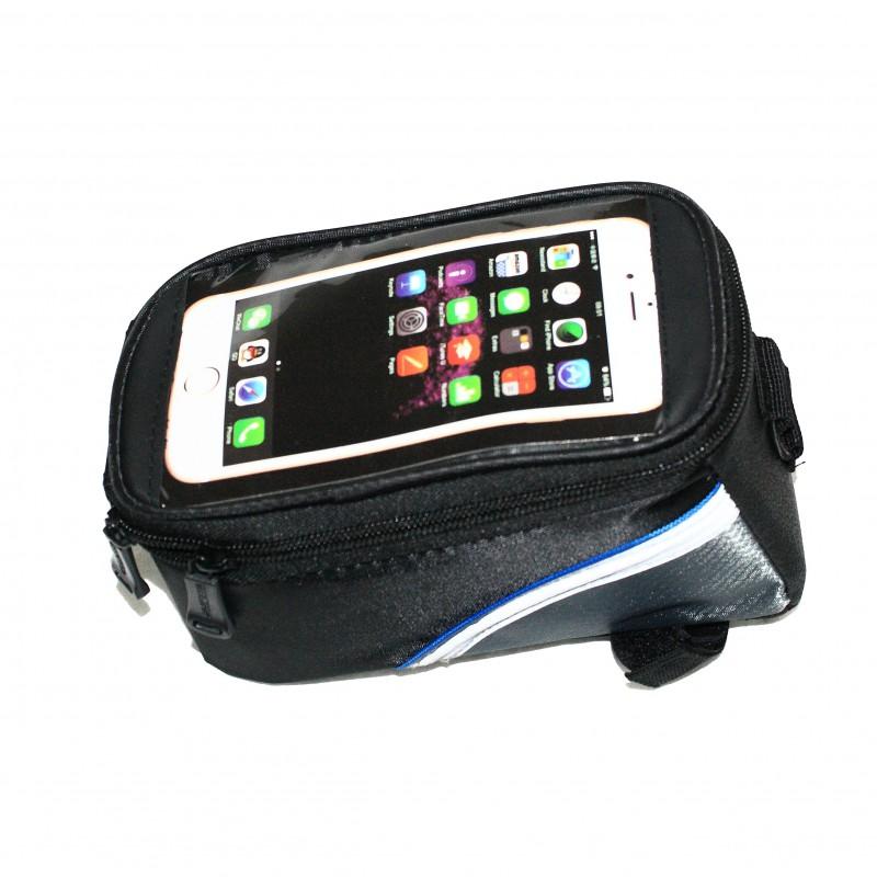 """Сумка на раму для инструмента и смартфона 5.5""""/4.8""""/4.2"""" (GA-42) , ROSWHEEL , черный , 3 штук"""